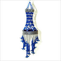 Embroidery Blue Hanging Jhumar