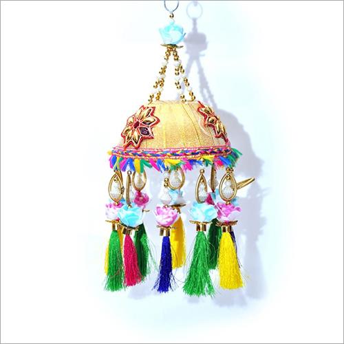 Tassel Embroidery Hanging Jhumar