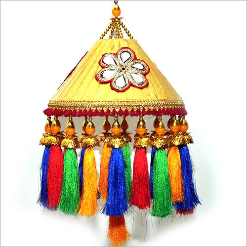 Multicolur Embroidery Jhumar