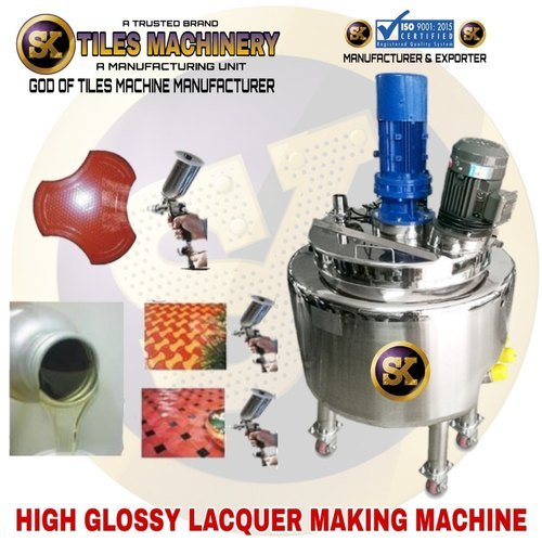 Lacquer Coating Machine