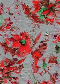 Banglory satin print febric