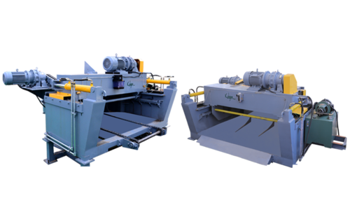 HEAVY DUTY HIGH SPEED DEBARKING MACHINE