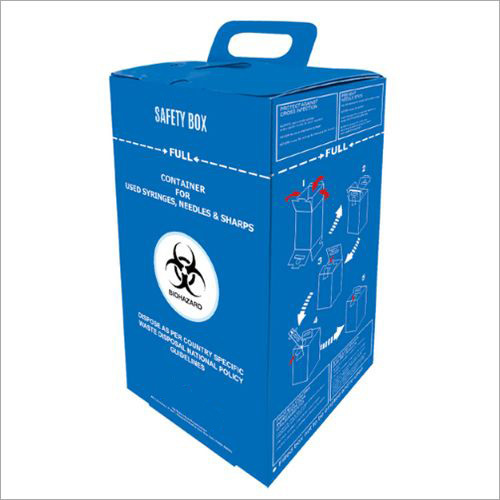 Medical Syringe Safety Box