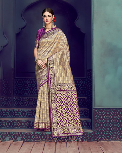 Banarasi Art Silk Gold Saree