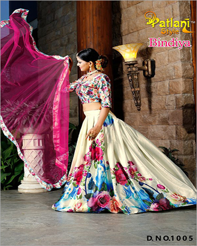 Fancy Digital Printed Lehenga Choli