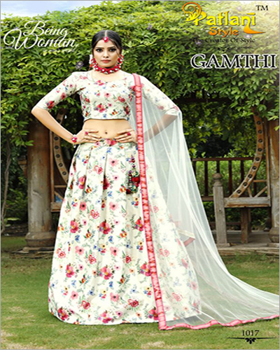 Ladies Digital Printed Lehenga Choli