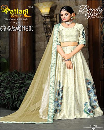 Ladies Designer Printed Lehenga Choli