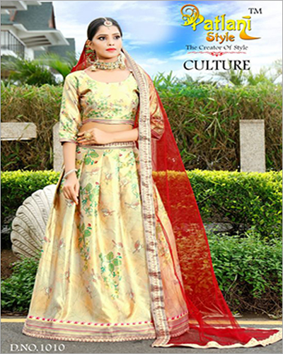 Ladies Designer Digital Printed Lehenga Choli
