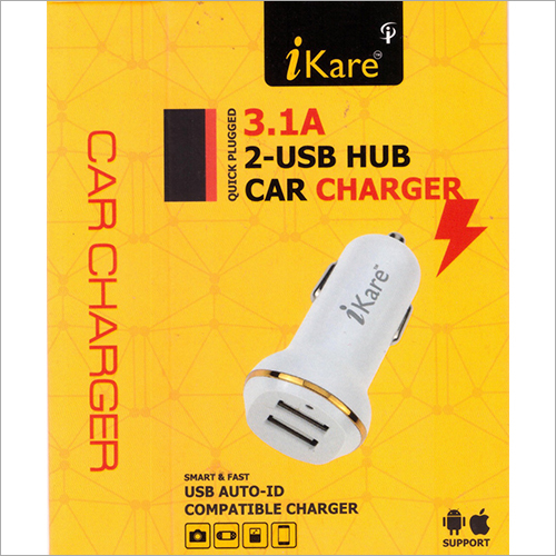 3.1 A 2 USB Hub Car Charger