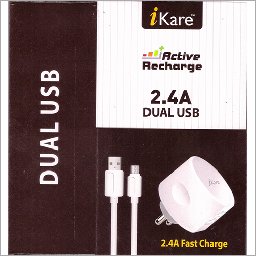 2.4 A Dual USB Fast Charger
