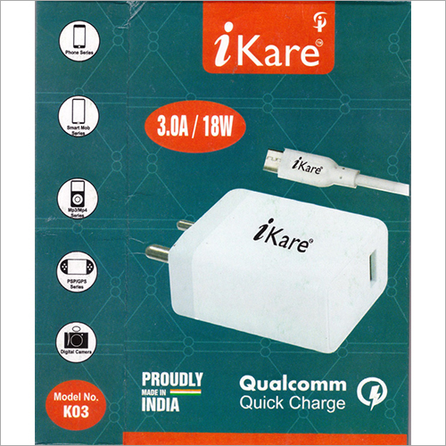 18 W Quick Mobile Charger