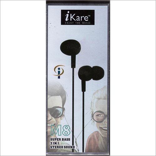 Super Bass 2 in 1 Stereo Earphone