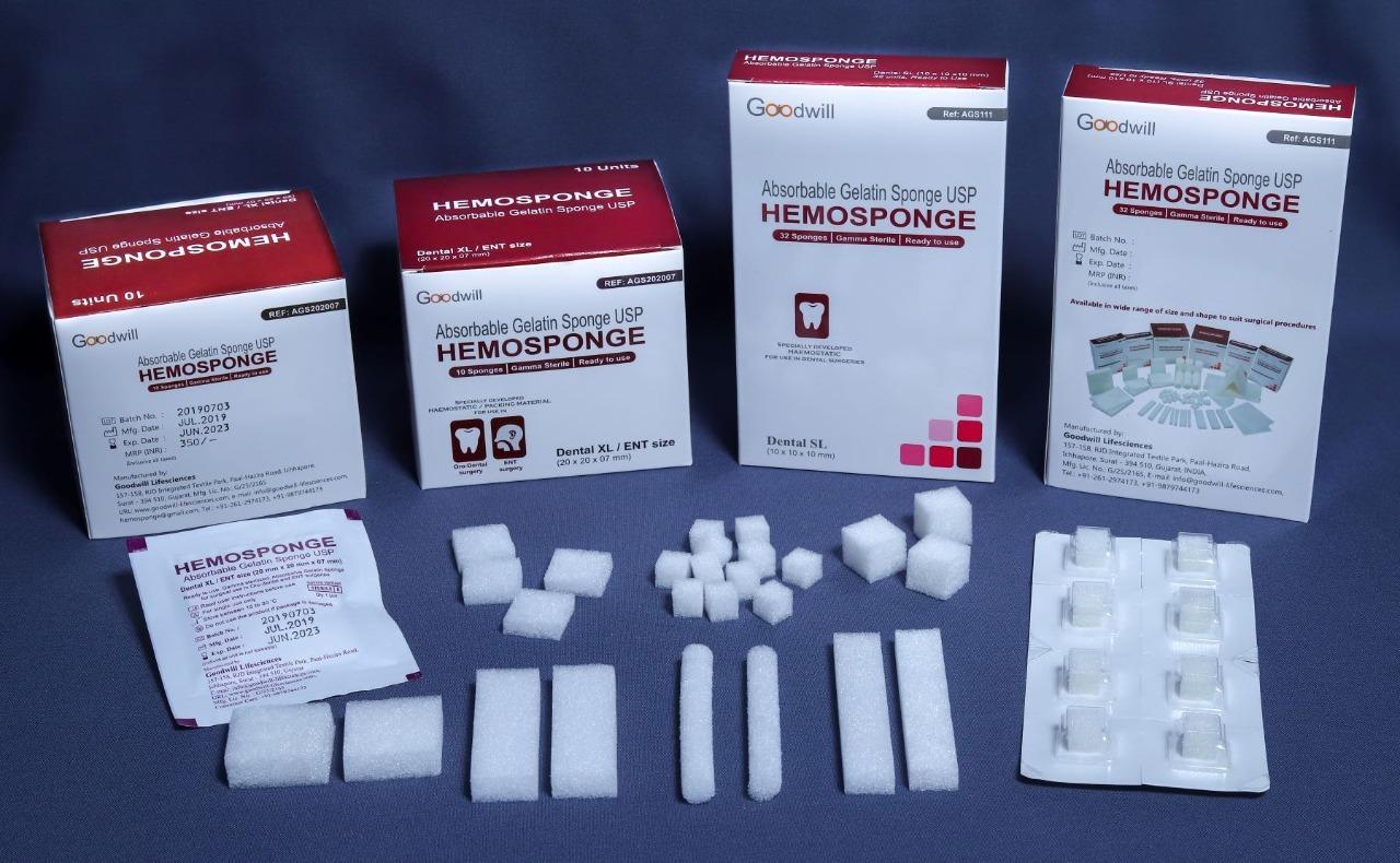 HEMOSPONGE ENT Range