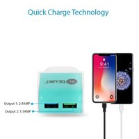 2.4 amp Fast Travel bluei Charger