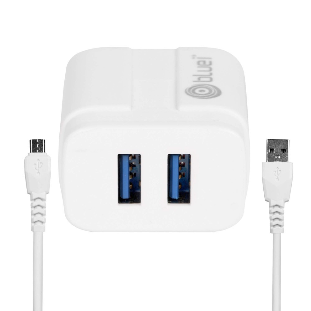 Bluei Tc-02 Energy 2.4a, Dual Usb Mobile Charger