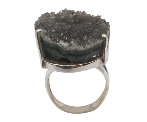 Black Rutile 925 Silver ring