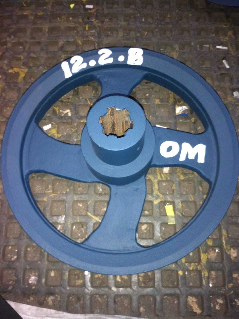 TRACTOR PTO PULLEY