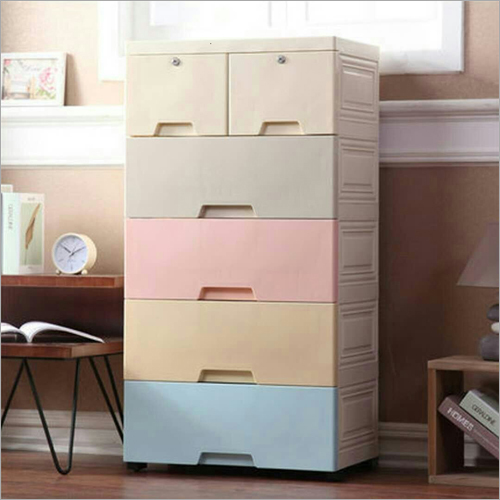 ABS Plastic 6 Drawer Cabinet