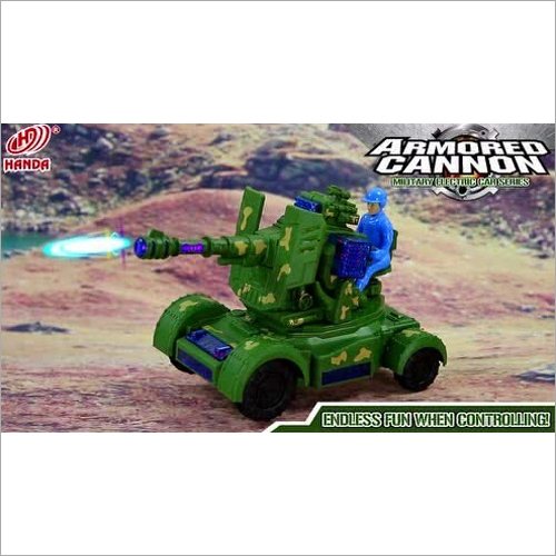 Armored Cannon Tank Remote Toy