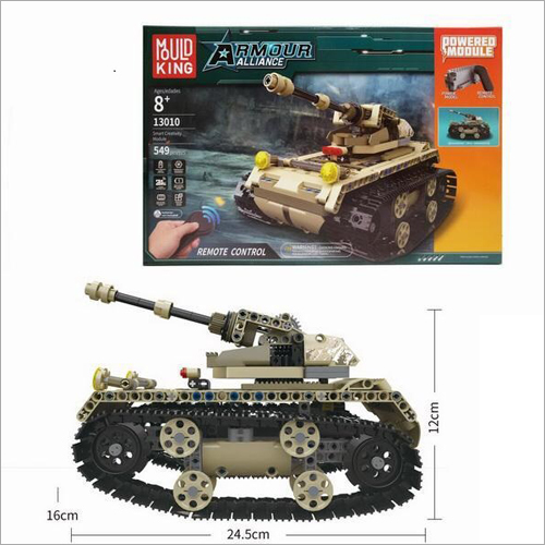 Armour Alliance Remote Control Tank Toy