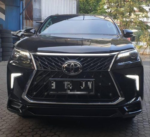 Black ABS Plastic New Fortuner TRD Kit