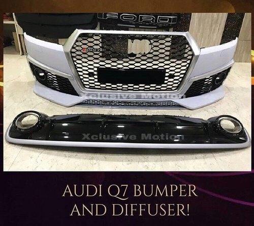 Audi Q7 Modify Bumper & Diffuser