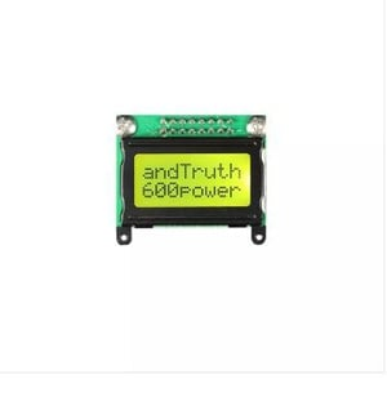 8*2 Character LCD Module Display