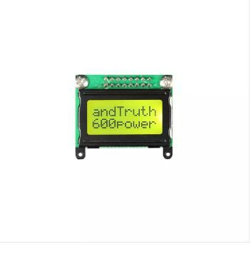 8*2 Character LCD Module Display