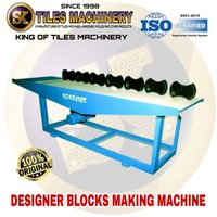 Vibration block making machine