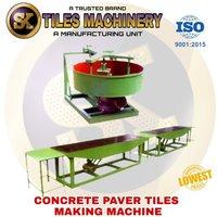 Concrete Paver Tiles Making Machine