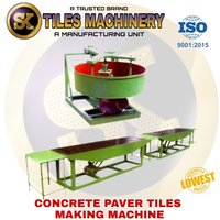 Manual Interlocking tiles making machine