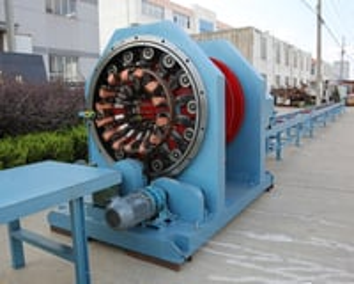 Round Cages With Welded Spiral Machine Round Cages With Welded Spiral Machine
