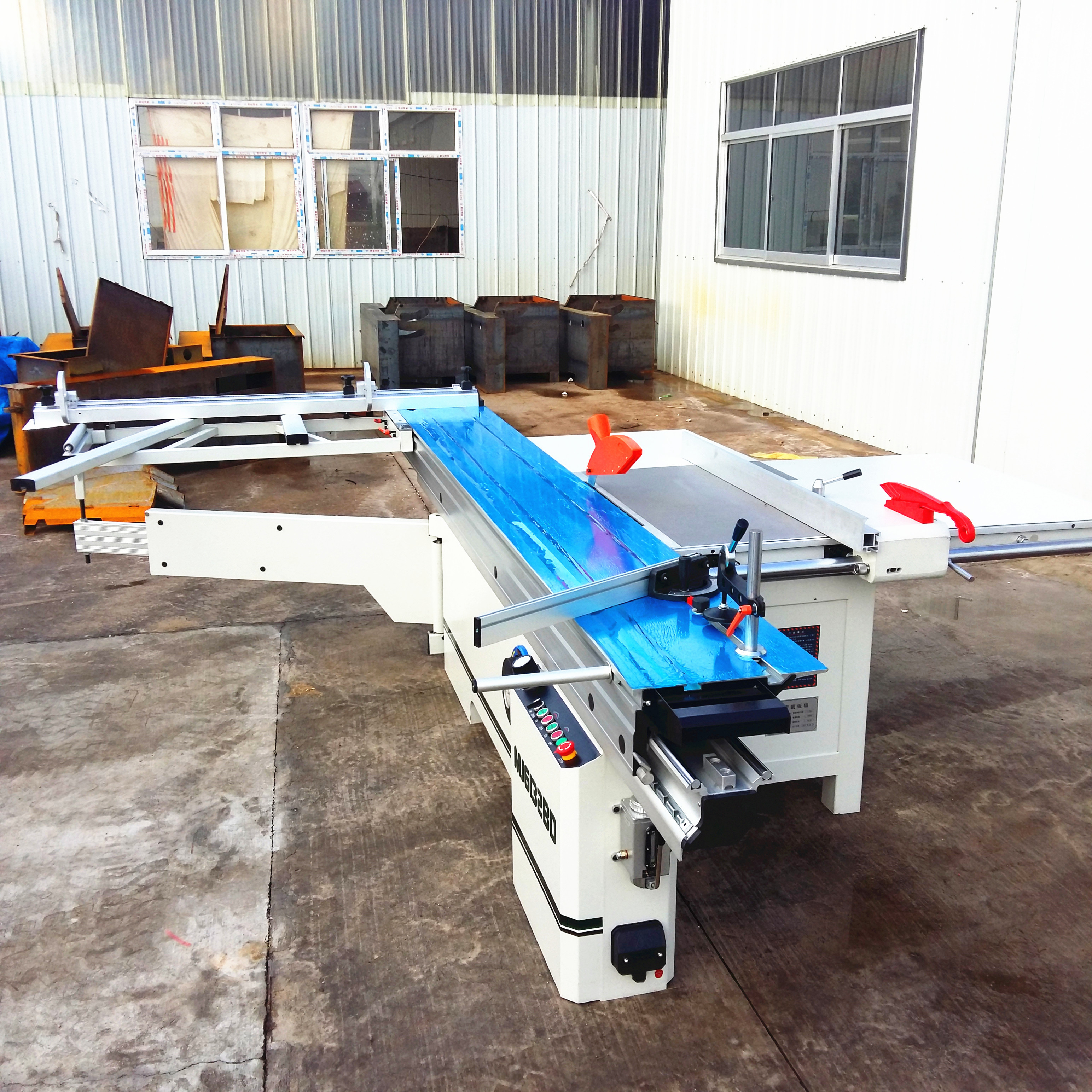 Precision Electric Lift Sliding Table Panel Saw