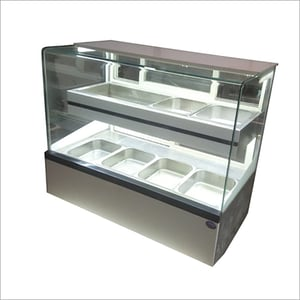 Hot And Cold Food Display Counter