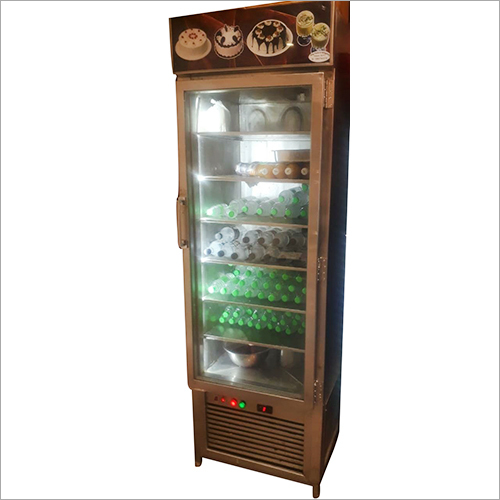 Vertical Glass Freezer