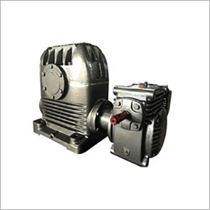 Worm Type Double Reduction Gearbox