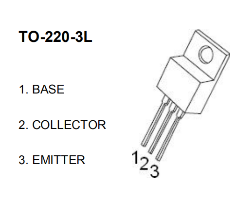 TIP127 Darlington Transistor