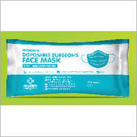 Disposable Surgeons Face Mask