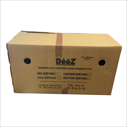 Corrugated Paper Carton Box