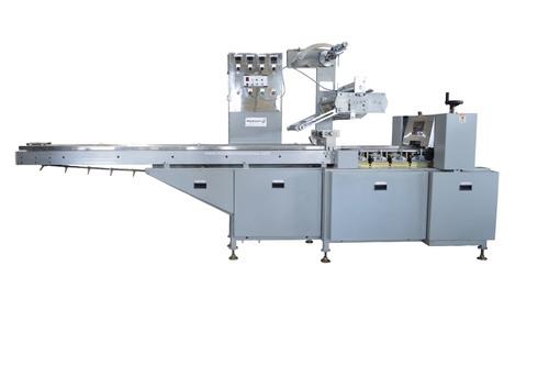 Horizontal Flow Wrap Machine For Noodles, Bar, Chikki