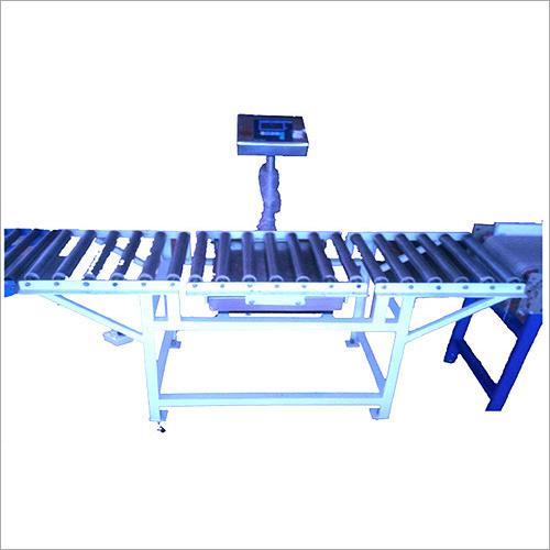 Carton Box Weighing Machine Conveyor