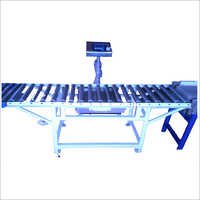 Carton Box Weighing Machine Conveyor