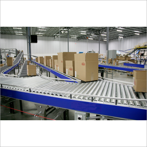 Conveyor Merger And Diverter