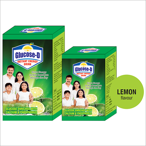 Energy Lemon Flavoured Drink Powder
