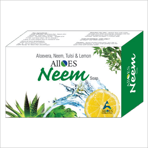 Aloe Vera Neem Tulsi And Lemon Soap