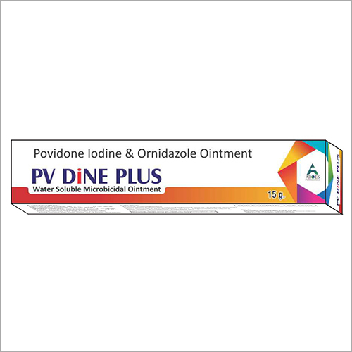 Povidone Iodine And Ornidazole Ointment Cream