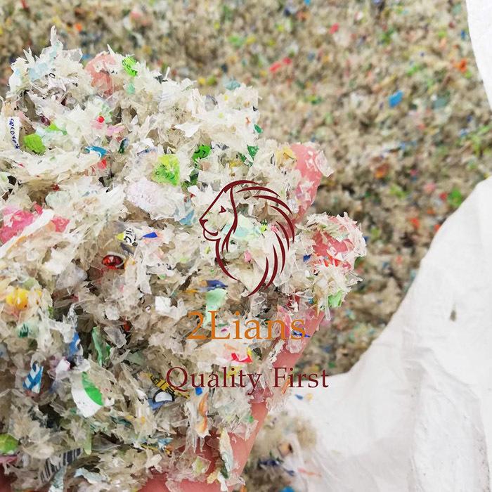 PET Bottle Regrind Grade C post industrial plastic scrap