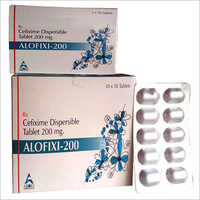 200 MG Cefixime Dispersible Tablets