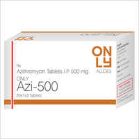 AZITHROMYCIN TAB 500 MG