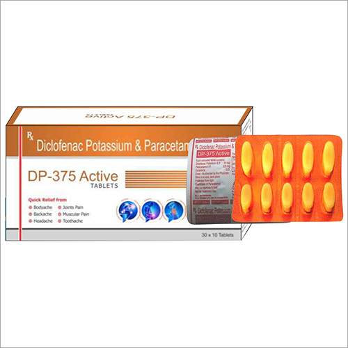 Diclofenac Potassium And Paracetamol Tablets